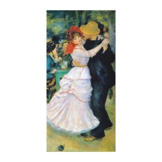 Impressão Em Tela Dança em belas artes de Bougival Renoir