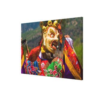 Impressão Em Tela Dançarino do festival de Aisan
