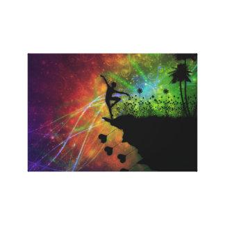 Impressão Em Tela Dançarino no céu