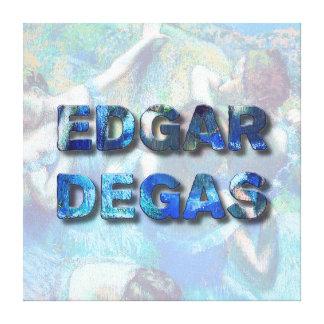 Impressão Em Tela Dançarinos azuis impressionista franceses de Edgar