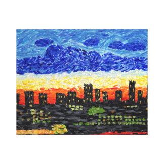 Impressão Em Tela Denver, skyline do Co