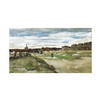 Impressão Em Tela Descoramento de Vincent van Gogh mmoído em