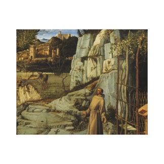 Impressão Em Tela deserto de St Francis do frick