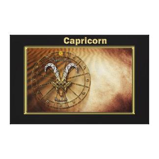 Impressão Em Tela Design da astrologia do zodíaco do Capricórnio