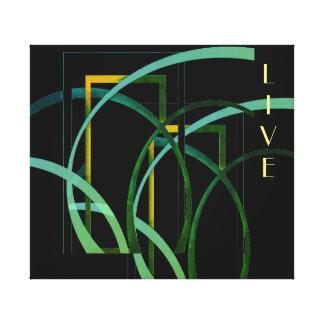 """Impressão Em Tela Design """"vivo"""""""