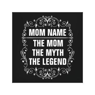 Impressão Em Tela Dia das mães feliz da mamã