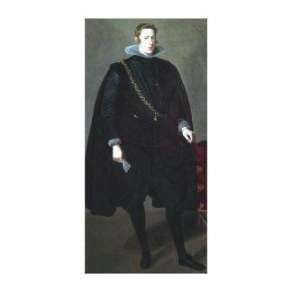 Impressão Em Tela Diego Velázquez Philip IV, rei da espanha
