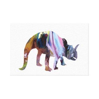 Impressão Em Tela Dinossauro