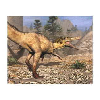 Impressão Em Tela Dinossauro de Austroraptor