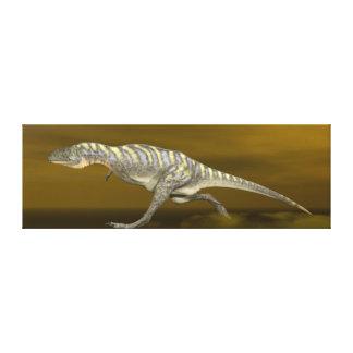 Impressão Em Tela Dinossauro do Aucasaurus - 3D rendem