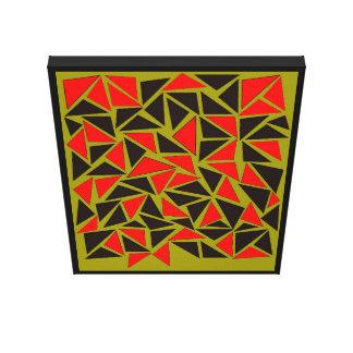 Impressão Em Tela Divertimento com triângulos