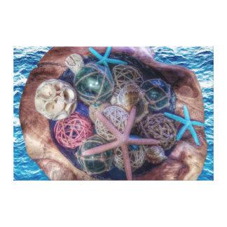 Impressão Em Tela ❤️ do amor do oceano