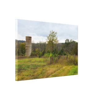 Impressão Em Tela Do silo suportes ainda