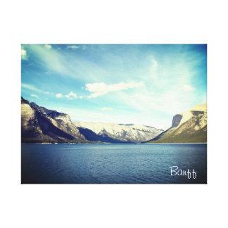 Impressão Em Tela Dois lagos Jake, Banff, Canadá