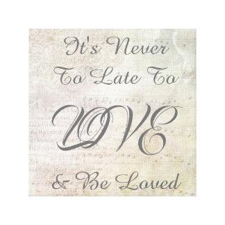 Impressão Em Tela É nunca a tarde amar & ser inspiração amada