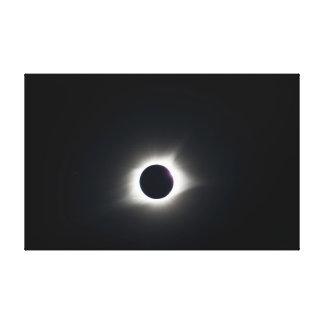 Impressão Em Tela Eclipse solar total 2017