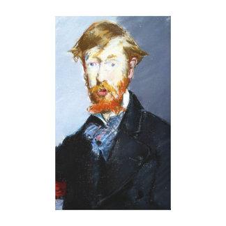 Impressão Em Tela Édouard Manet George Moore