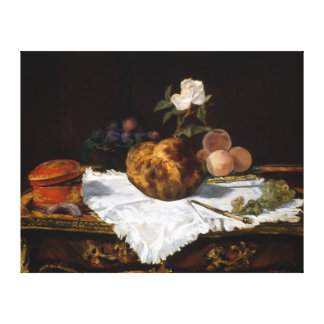 Impressão Em Tela Édouard Manet o bolo frito