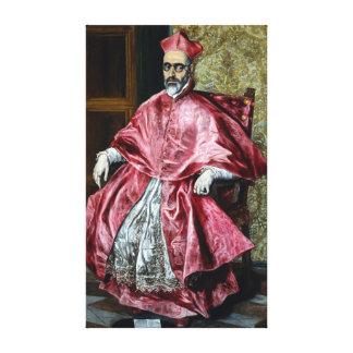 Impressão Em Tela El Greco Fernando cardinal Niño de Guevara