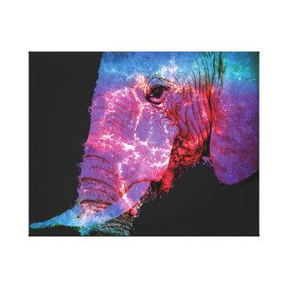 Impressão Em Tela Elefante elétrico