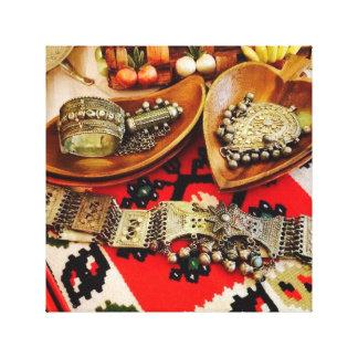 Impressão Em Tela Em todo o mundo arte da jóia