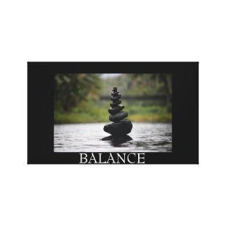 Impressão Em Tela Equilíbrio