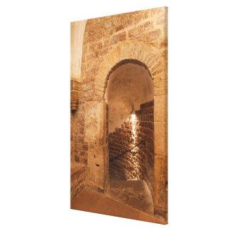Impressão Em Tela Escadaria no Bathhouse de Mikveh