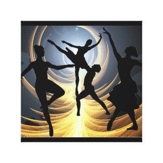 Impressão Em Tela Escola de dança