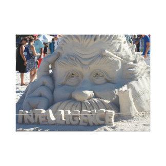 Impressão Em Tela Escultura da areia