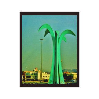 Impressão Em Tela Escultura da palmeira