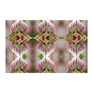 Impressão Em Tela Espelho da orquídea