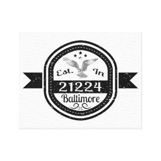 Impressão Em Tela Estabelecido em 21224 Baltimore
