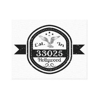 Impressão Em Tela Estabelecido em 33025 Hollywood