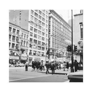 Impressão Em Tela Estado de Chicago 1967 e casino Royale do teatro