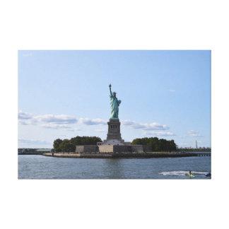 Impressão Em Tela Estátua da liberdade
