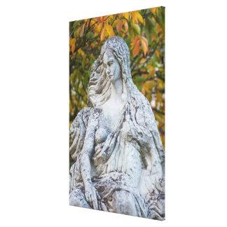 Impressão Em Tela Estátua da sereia de Loreley