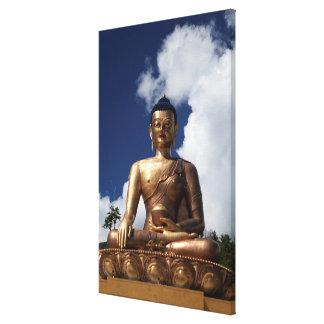 Impressão Em Tela Estátua de assento de Buddha