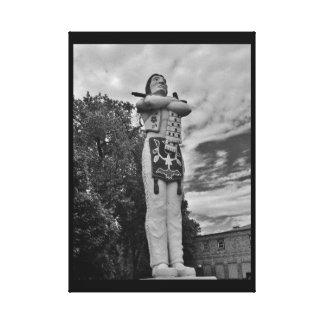 Impressão Em Tela Estátua de Hiawatha