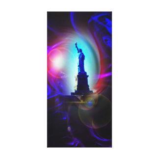 Impressão Em Tela Estátua de liberdade - estátua of Liberty