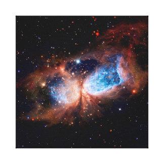Impressão Em Tela Estrela S106 que forma a região - foto do espaço