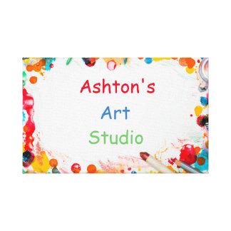 Impressão Em Tela Estúdio da arte de Childs
