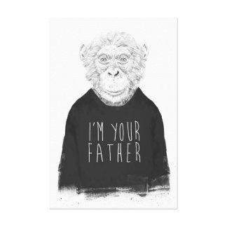 Impressão Em Tela Eu sou seu pai