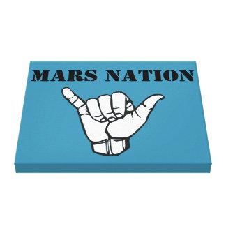 Impressão Em Tela Exército da nação de Marte