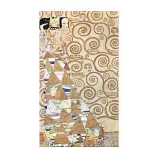 Impressão Em Tela Expectativa de Gustavo Klimt
