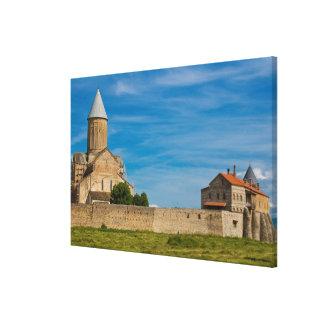 Impressão Em Tela Exterior antigo do monastério