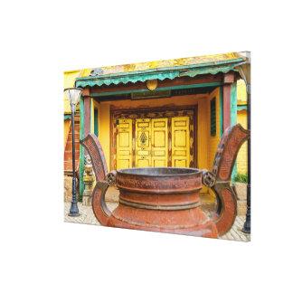 Impressão Em Tela Exterior de construção do monastério