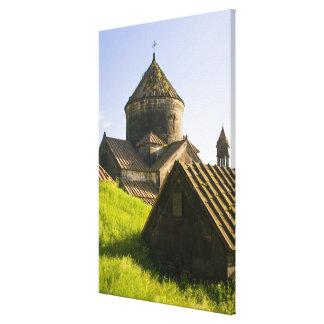 Impressão Em Tela Exterior do monastério de Haghpat