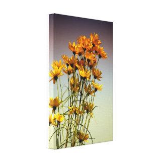 Impressão Em Tela Federação de flor