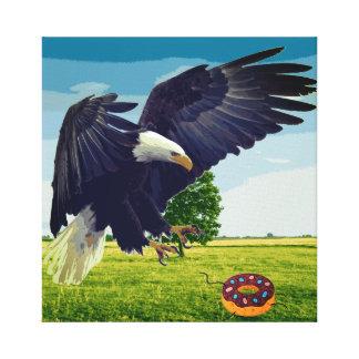 Impressão Em Tela Filhós dos ataques de Eagle