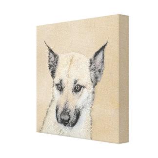 Impressão Em Tela Filhote de cachorro de Chinook (orelhas aguçado)